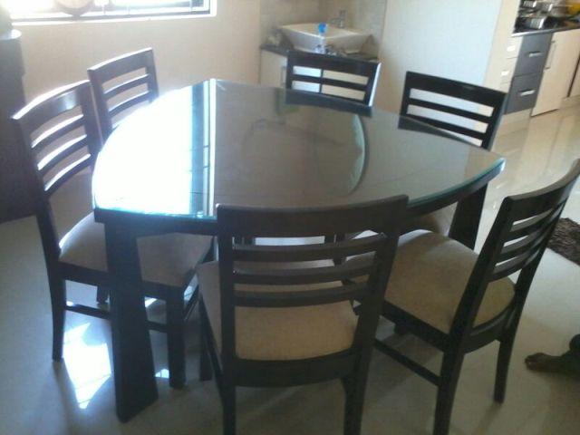 dinning table showroom in geddalahalli