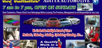 Aditya Automotive (Car Workshop & Washing)