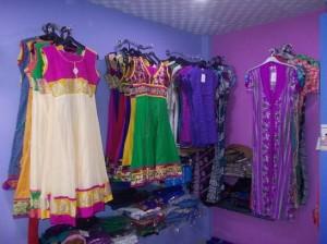 clothes showroom in agara main road babusapalya