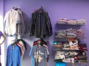 clothes showroom in babusapalya