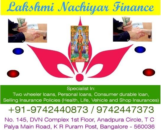 loan providers in t c palya
