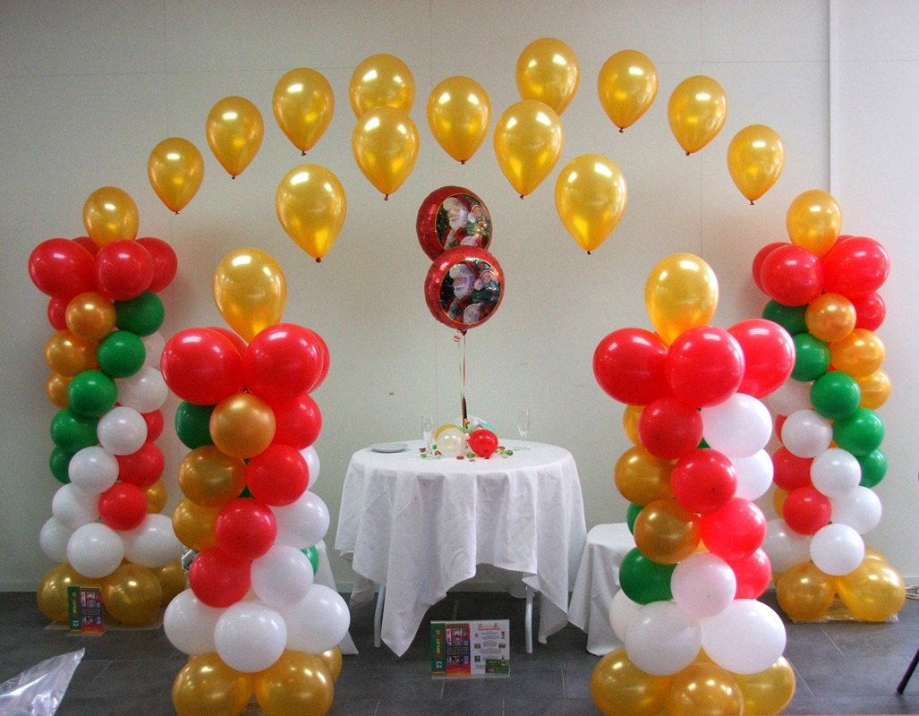 S a suresh enterprises brass band set a to z flower dec for Balloon birthday decoration