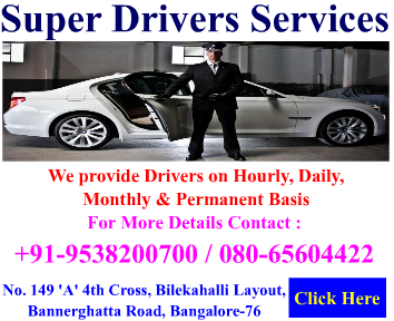 Drivers Services in bangalore