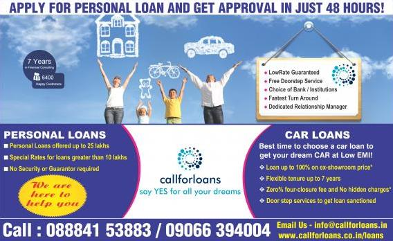 best personal loans agency in bangalore