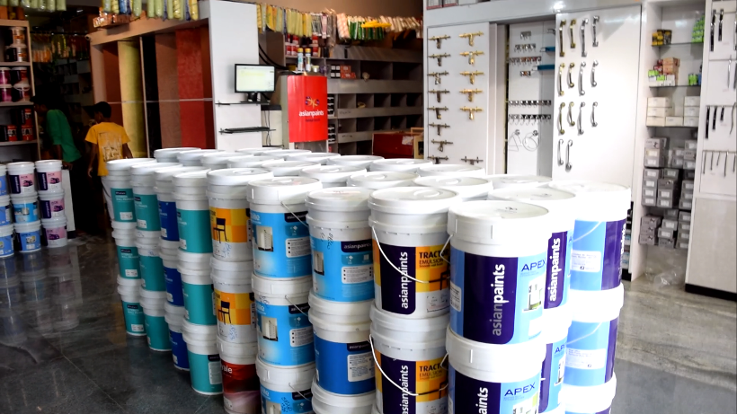 asian paint dealer in t c palya