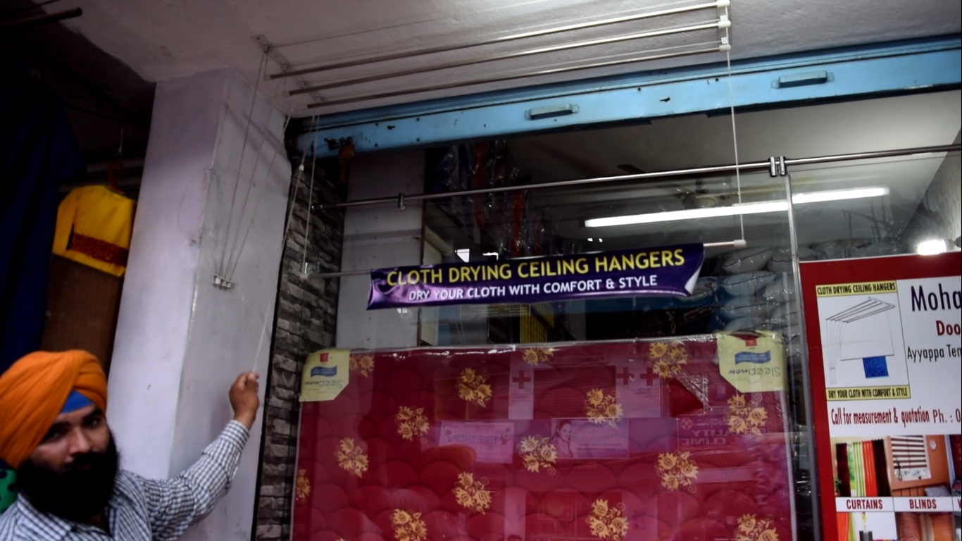 Cloth Drying Ceiling Hangers dealers in jalahalli cross bangalore