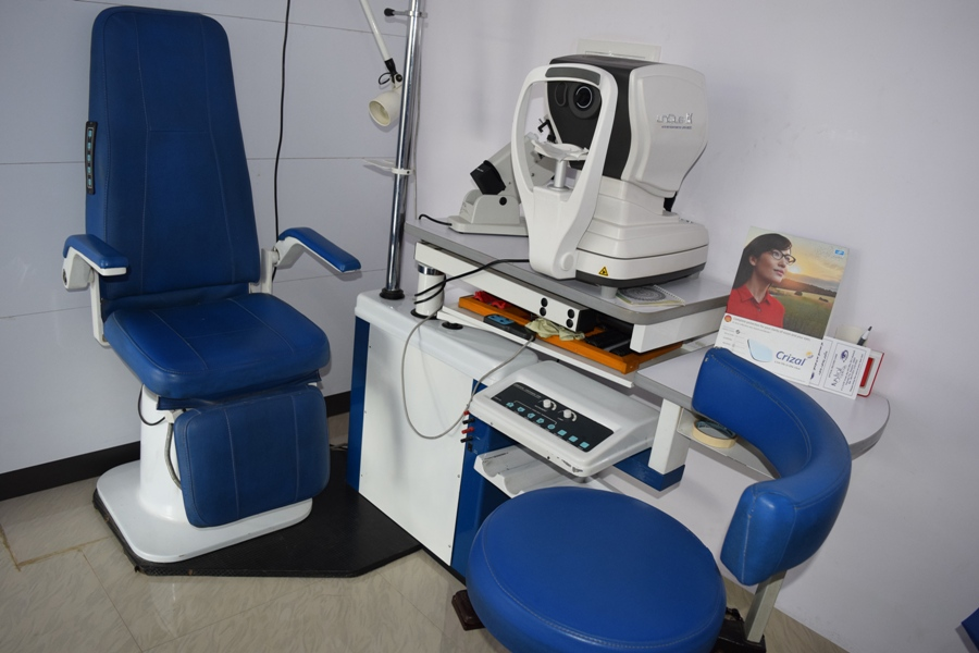 eye testing machine