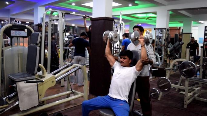 best gym showroom in k r puram