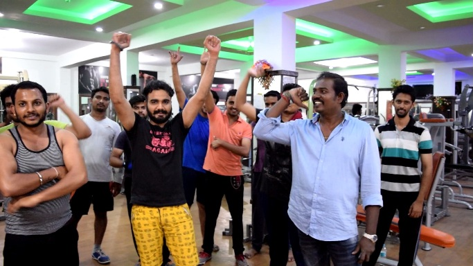 gym center in k r puram bangalore