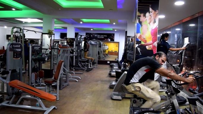 gym center near t c palya signal