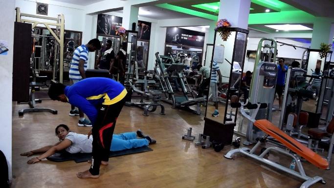 gym fitness services near k r puram