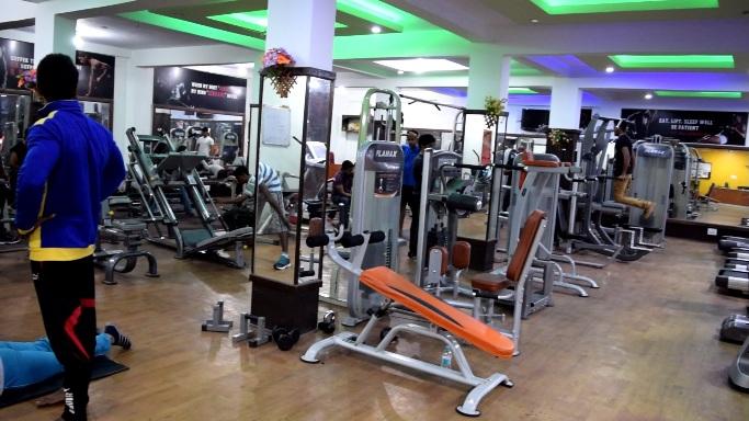 gym showroom near k r puram