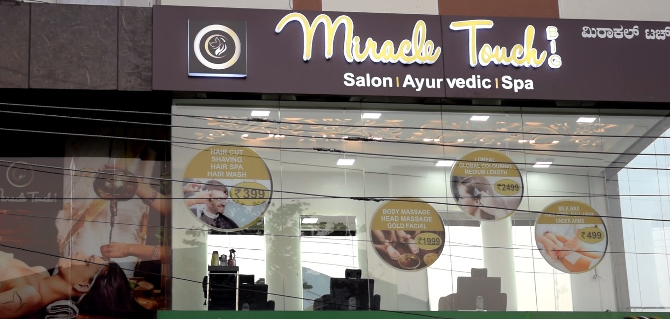Miracle Touch Unisex Salon and Spa